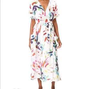 Mara Hoffman Maxi Wrap Dress